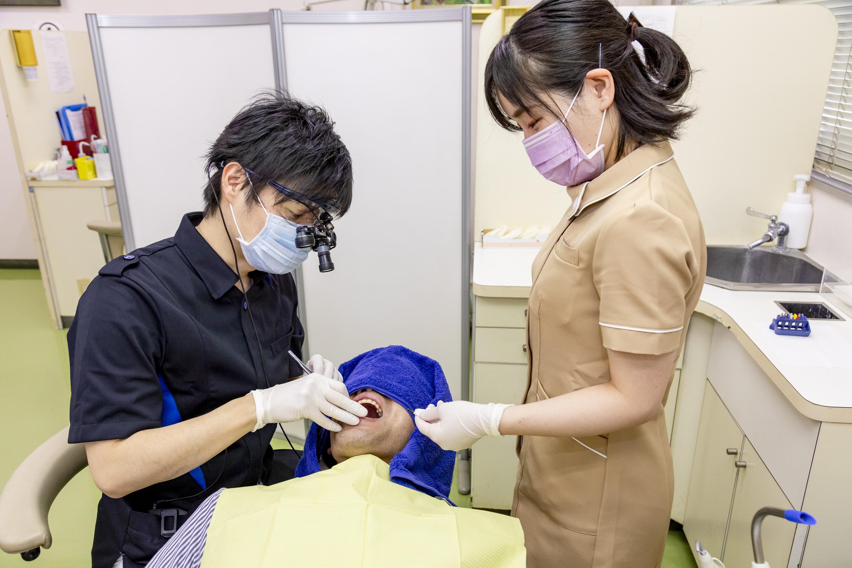 当クリニックの虫歯治療